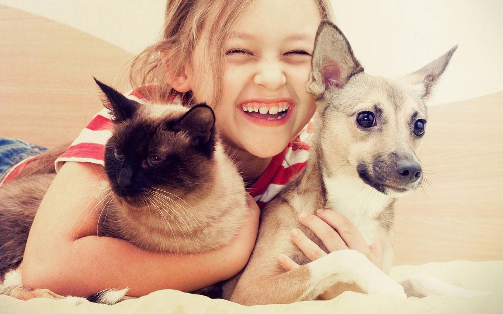 Welches Haustier für dein Kind?